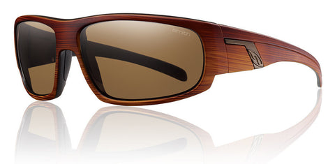 Smith Terrace Wood Grain Polarized Sunglasses TEPPBRWG - SURF WORLD