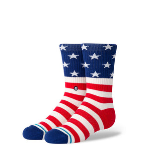 Stance The Fourth ST Kids Socks - White