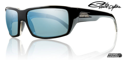 Smith Touchstone Blue Mirror Glass Polarized Sunglasses TSGPUGMBK - SURF WORLD