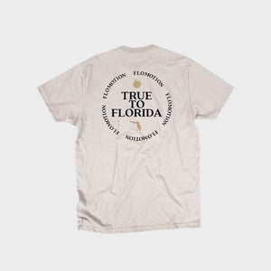 Flomotion True To Florida Tee Cream