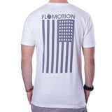 Flomotion USA Tee - White