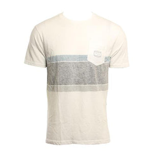 Vissla Slabs SS Pocket Tee - White SURF WORLD
