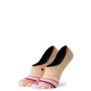 Stance womens on my way invisble socks - gold SURF WORLD
