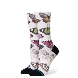 Stance Social Butterfly Socks - Canvas