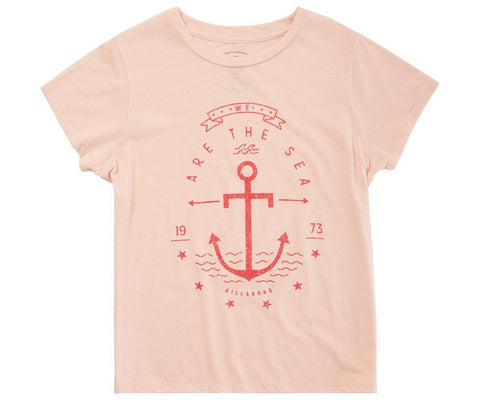 Billabong We Are The Sea Tanline Girls Shirt G484HWEA-TAL - SURF WORLD Fort Lauderdale Florida