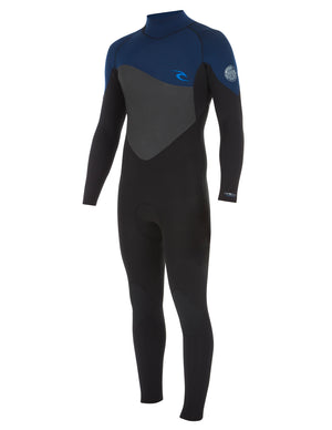 Rip Curl Omega 3/2 Mens Wetsuit - Navy / Black SURF WORLD