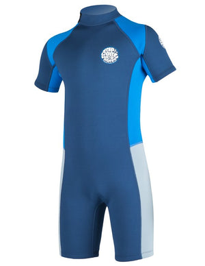 Rip Curl Boys Aggrolite 2MM Springsuit - Navy SURF WORLD
