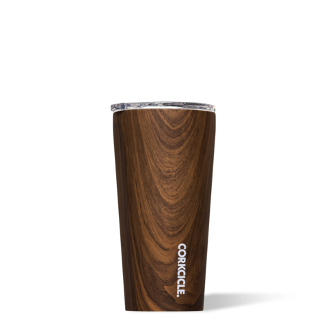 Corkcicle 16oz Walnut Wood Tumbler Cup