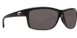 COSTA MAG BAY shiny Black Gray 580P POLARIZED SUNGLASSES