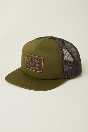 Oneill American Original Trucker Hat - Army Green SURF WORLD