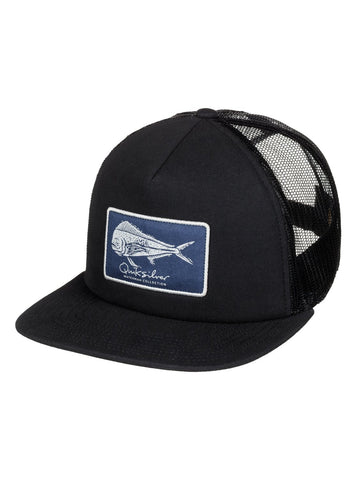 Quiksilver Bulls Trucker Hat - Black - SURF WORLD Florida