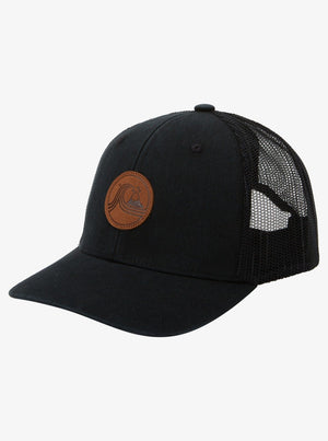 Quiksilver Brick Hollows Trucker Hat - Black