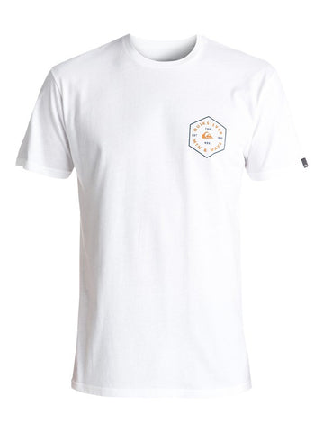 Quiksilver 6th Degree Mod Tee - White - SURF WORLD Florida