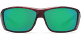 Costa Cat Cay Tortise Green Mirror 580P Polarized Sunglasses - SURF WORLD Fort Lauderdale Florida