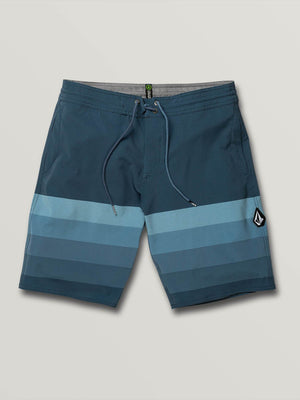 Volcom Quarta Static Stoney Mens Hybrid Shorts - Bering Sea