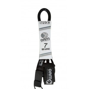 OAM 7' Regular Black Leash LE10R7BLK - SURF WORLD Fort Lauderdale Florida