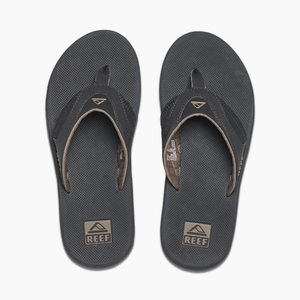 Reef Fanning Mens Sandals - Black Brown