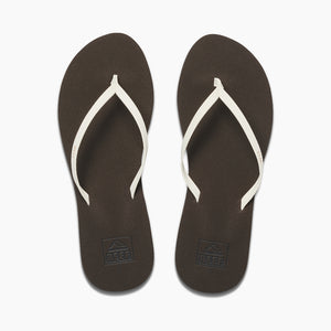 Reef Bliss Nights Womens Sandals - Brown White