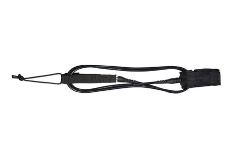 Creatures of Leisure 10' Longboard Knee Leash - Black Black - SURF WORLD Fort Lauderdale Florida