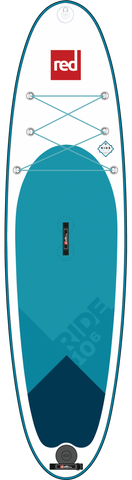 RED 10'6 Inflatable Paddle Board MSL Ride All Around