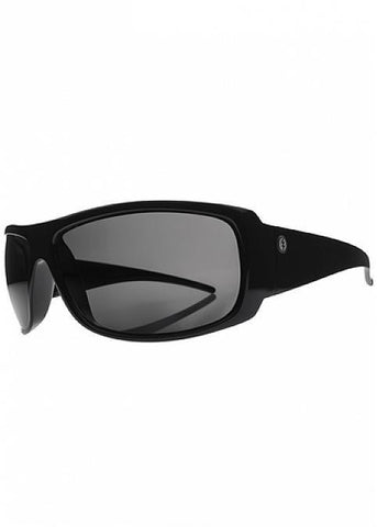 Electric Charge XL Gloss Black OHM Polarized Grey Sunglasses EE10401642 - SURF WORLD