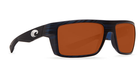 Costa Del Mar MOTU Matte Black Teak Copper 580P Lens Polarized Sunglasses MTU111OGP - SURF WORLD Florida