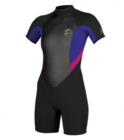 Oneill Womens Bahia SS Cobalt Berry Springsuit 4281AG5 - SURF WORLD