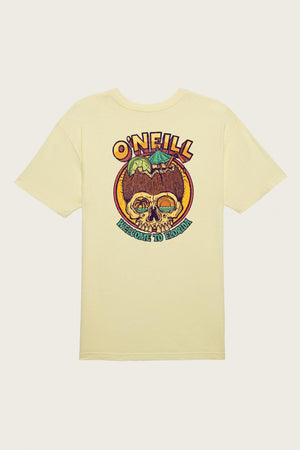 Oneill Coco Florida Tee - Pale Yellow