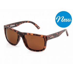 Carve Crimson Polarized Sunglasses - Matte Tort Brown