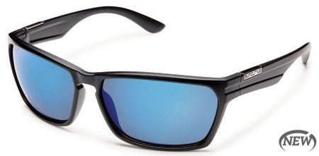 SunCloud Cutout Matte Black Blue Mirror Sunglasses SCTPPUMMB - SURF WORLD Florida