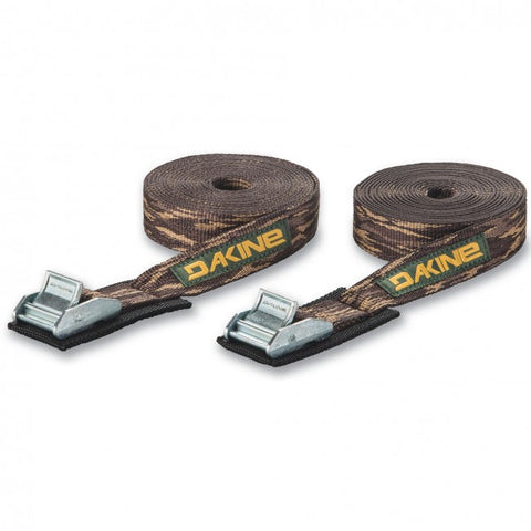 Dakine 12' Tie Down Basic Straps set of 2 - Camo