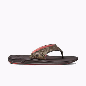 Reef Womens Rover Sandal - Brown/ Coral SURF WORLD