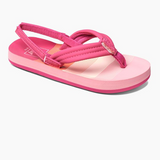 Reef Little Ahi Girls Sandals - Pink Stripes