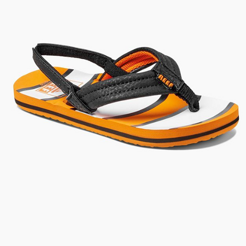 Reef Little Ahi Kids Sandals - Orange Fish - Nemo