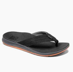 Reef Ortho Coast Men's Orthodontic Arch Sandals - Black SURF WORLD