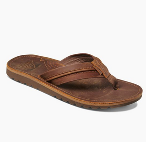 Reef Voyage Lux Waterproof Leather Sandals - brown brown SURF WORLD