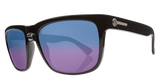 Electric Knoxville Gloss Black Blue Melanin Polarized 2 Sunglasses EE09001665 - SURF WORLD Florida
