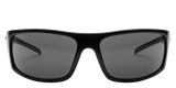 Electric Tech One Gloss Black Sunglasses EE11601620 - SURF WORLD  - 1