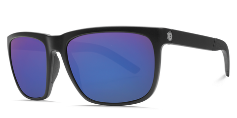Electric Knoxville XL S Matte Black OHM Polarized Blue Sunglasses EE16001065 - SURF WORLD