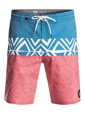 "Quiksilver Panel 19"" Beachshorts - Moroccan Blue - SURF WORLD Florida"