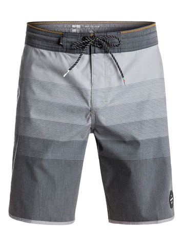 "Quiksilver Vista 19"" Beachshorts - Black Grey - SURF WORLD Fort Lauderdale Florida"