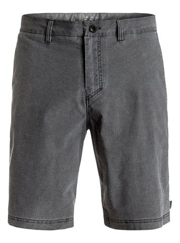 "Quiksilver Washed Amphibian 20"" Amphibian Shorts - Black - SURF WORLD Florida"