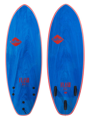 Softtech Eric Geiselman Flash Soft Top Surboard 5'7  softboard- Blue Marble SURF WORLD