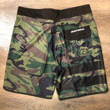 Surf World Everglades Camo Boardshorts -  The Surf World Collection - Camo
