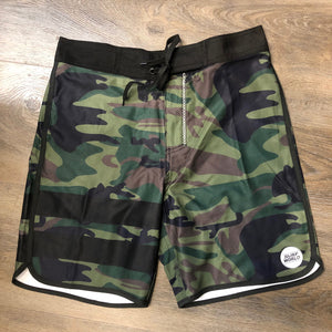 Everglades Camo Boardshorts -  The Surf World Collection - Camo