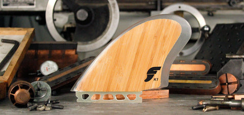 FUTURES Twin Fin Set FK1 HONEYCOMB KEEL- BAMBOO 151012020 - SURF WORLD Florida