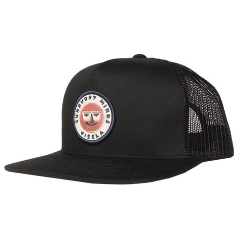 Vissla Car Park Sunburnt Minds Trucker Hat - Phantom