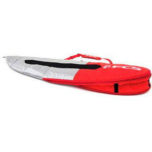 FCS Dual All Purpose 6'7 Board Bag - Red Mood SURF WORLD