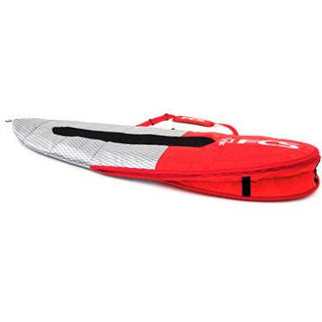FCS Dual All Purpose 6'7 Board Bag - Red Mood