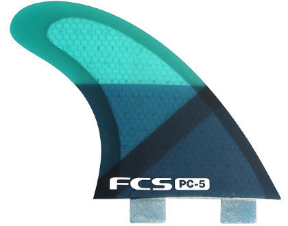 FCS PC 5 Thruster Large Tri Fin Surf Fins Original Series 2 Tab - SURF WORLD